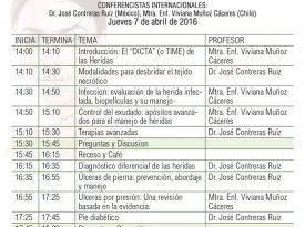 """Programa Pre-congreso """"Conceptos actuales en prevención, abordaje y manejo de úlceras cutáneas"""""""