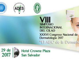 Afiche Congreso Dermatología 2017