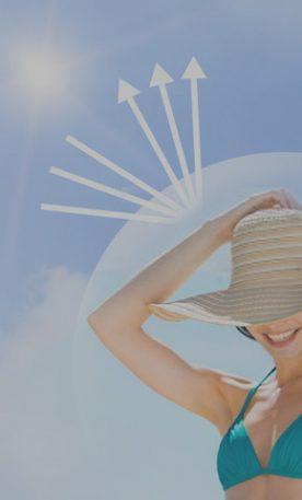 A protegerse de los rayos del sol